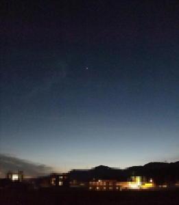 宵の明星+風景