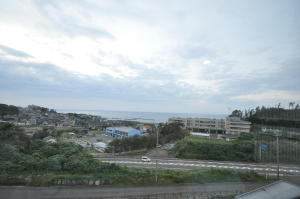 メトロポリタン松島からの風景