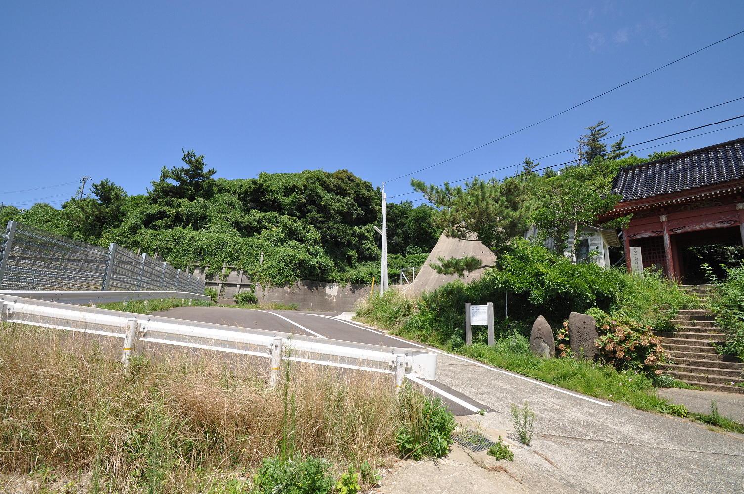 新潟2010;観音堂山門横