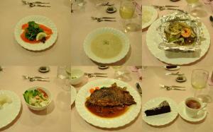 白馬2010;二日目の夕食