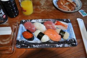 新潟2010;今日のお昼はお寿司