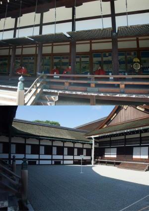 小御所と蹴鞠の庭