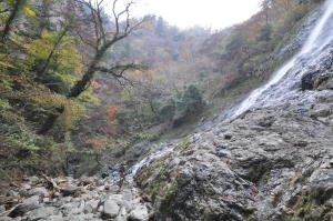 天滝;下を望む